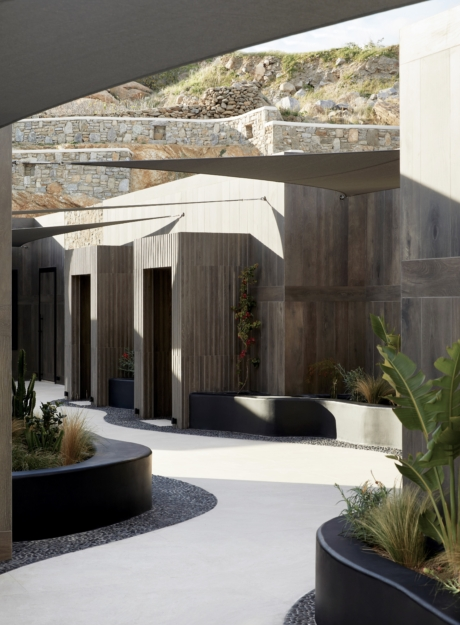 AEONIC Suites and Spa Public Areas<br> MYKONOS