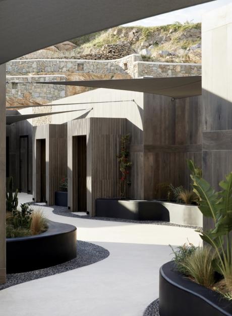 AEONIC Suites and Spa Public Areas<br> MYKONOS